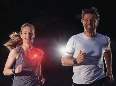 hardlopen in het donker