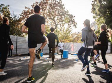 warming-up voor hardlopen