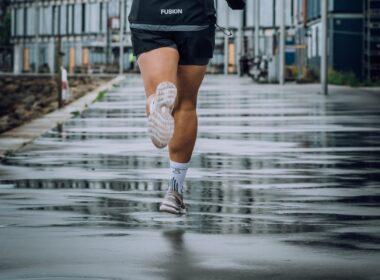 hardlopen in de regen