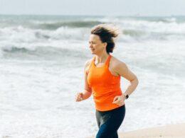 hardlopen met wind